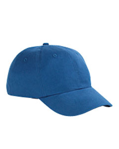Royal 6-Panel Brushed Twill Structured Cap
