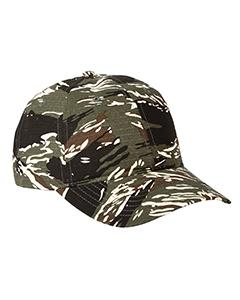 Rpstp Tiger Camo Unstructured Camo Hat