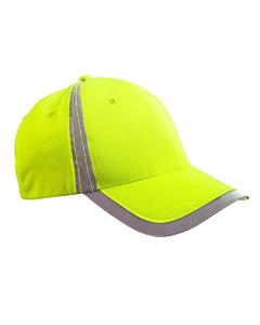 Bright Yellow Reflective Accent Safety Cap