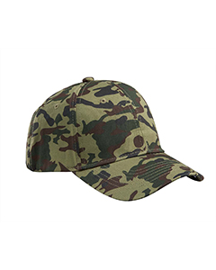 Forest Camo Structured Camo Hat