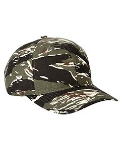 Rpstp Tiger Camo Structured Camo Hat