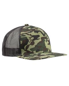 Forest Camo/ Blk Surfer Trucker Cap