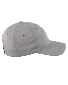 Dark Grey 6-Panel Twill Unstructured Cap
