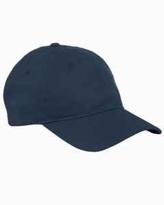 Navy 6-Panel Twill Unstructured Cap