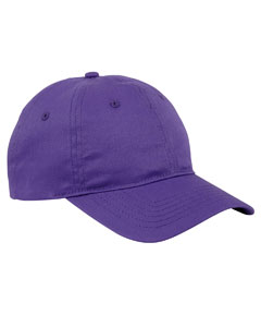 Team Purple 6-Panel Twill Unstructured Cap