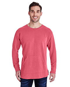 Watermelon Adult French Terry Crew With Pocket