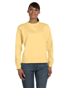 Butter Women's 10 oz. Garment-Dyed Wide-Band Fleece Crew