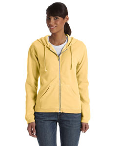 Butter Women's 10 oz. Garment-Dyed Full-Zip Hood