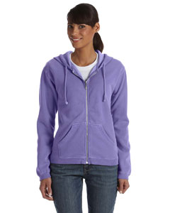 Violet Ladies' Full-Zip Hooded Sweatshirt