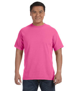Neon Pink Adult Heavyweight RS T-Shirt