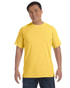 Neon Yellow 6.1 oz. Ringspun Garment-Dyed T-Shirt