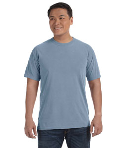 Ice Blue 6.1 oz. Ringspun Garment-Dyed T-Shirt