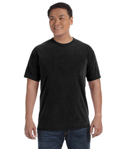 Black 6.1 oz. Ringspun Garment-Dyed T-Shirt