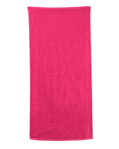 Hot Pink Carmel Beach Towel