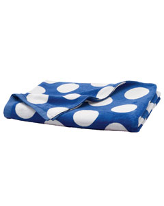 Royal Polka Dot Carmel Beach Towel