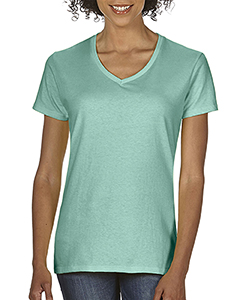 Seafoam Ladies Midweight RS V-Neck T-Shirt