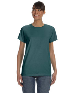 Emerald Women's 5.4 oz. Ringspun Garment-Dyed T-Shirt