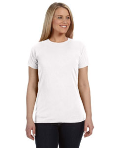 White Ladies' Lightweight RS T-Shirt