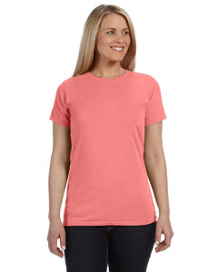 Neon Red Ornge Ladies' Lightweight RS T-Shirt