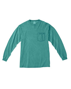 Seafoam Long-Sleeve Pocket T-Shirt