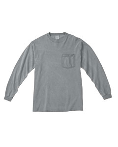 Granite Long-Sleeve Pocket T-Shirt