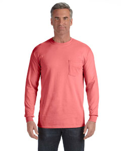 Watermelon Long-Sleeve Pocket T-Shirt
