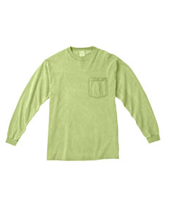 Celadon Long-Sleeve Pocket T-Shirt