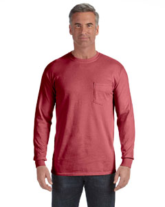 Brick Long-Sleeve Pocket T-Shirt