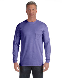 Violet Long-Sleeve Pocket T-Shirt