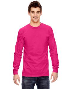 Heliconia Ringspun Garment-Dyed Long-Sleeve T-Shirt