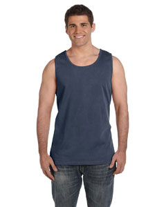 Denim Ringspun Garment-Dyed Tank