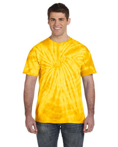 Spider Gold 5.4 oz., 100% Cotton Tie-Dyed T-Shirt