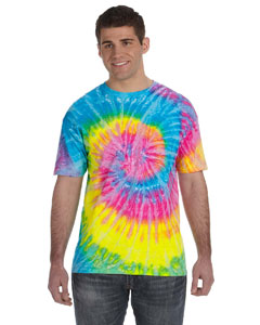Saturn 5.4 oz., 100% Cotton Tie-Dyed T-Shirt