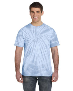 Spider Baby Blue 5.4 oz., 100% Cotton Tie-Dyed T-Shirt