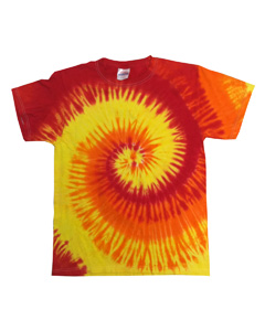 Blaze 5.4 oz., 100% Cotton Tie-Dyed T-Shirt