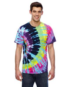 Flashback 5.4 oz., 100% Cotton Tie-Dyed T-Shirt