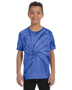 Spider Royal Youth 5.4 oz., 100% Cotton Tie-Dyed T-Shirt