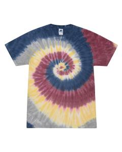 Lotus Youth 5.4 oz., 100% Cotton Tie-Dyed T-Shirt