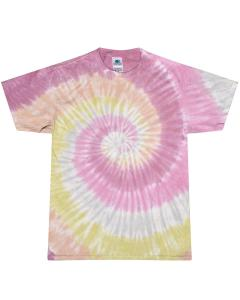 Desert Rose Youth 5.4 oz., 100% Cotton Tie-Dyed T-Shirt