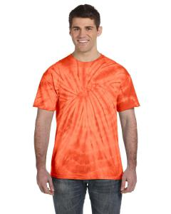 Spider Orange Adult 5.4 oz. 100 Cotton Spider T-Shirt