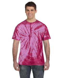 Spider Pink Adult 5.4 oz. 100 Cotton Spider T-Shirt
