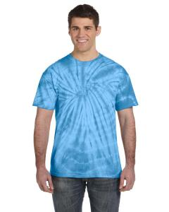 Spider Turquoise Adult 5.4 oz. 100 Cotton Spider T-Shirt