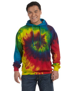 Reactive Rainbow 8.5 oz. Tie-Dyed Pullover Hood