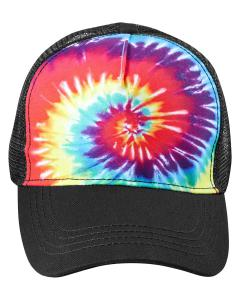 Reactive Rainbow Adult Trucker Hat