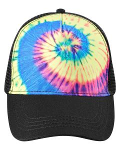 Neon Rainbow Adult Trucker Hat