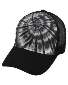 Spider Black Adult Trucker Hat
