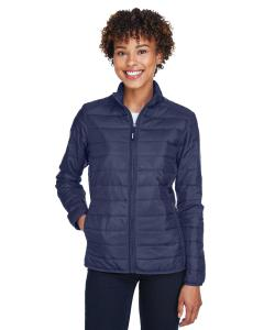 Classic Navy Ladies' Prevail Packable Puffer Jacket