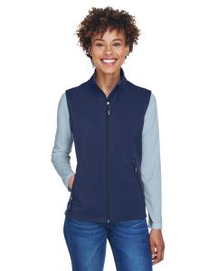 Classic Navy Ladies' Cruise Two-Layer Fleece Bonded SoftShell Vest