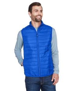True Royal Men's Prevail Packable Puffer Vest