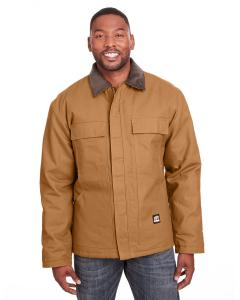 Brown Duck Mens Heritage Cotton Duck Chore Jacket